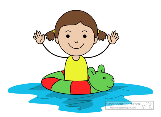 Swimmer swimming pool clip art clipart image 5.