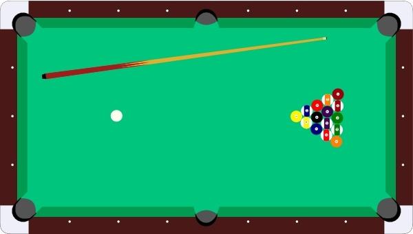 Scheibej Pool Table Cue Balls clip art Free vector in Open.