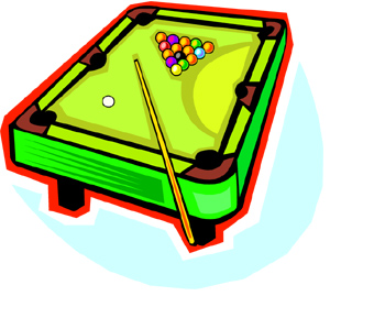 19+ Pool Table Clipart.