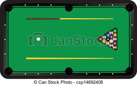 Pool Table Clipart, Pool Table Free Clipart.