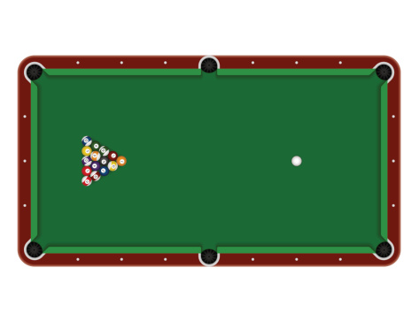 Pool Table Clipart Clipground - Pool table top only