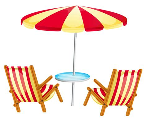 Pool Umbrella Clip Art.
