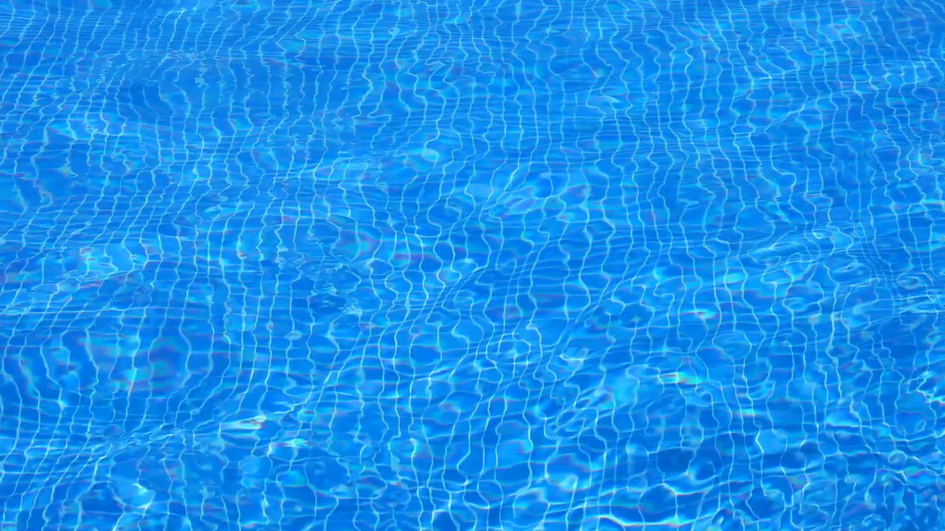 Pool Water Reflections.