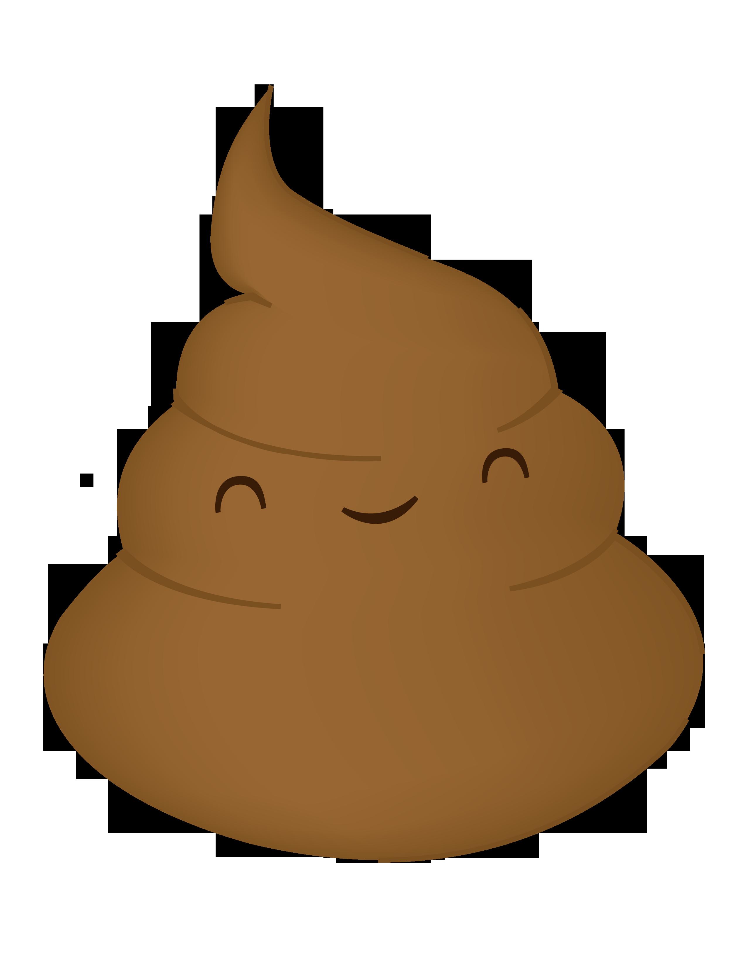 Poop clipart no background.