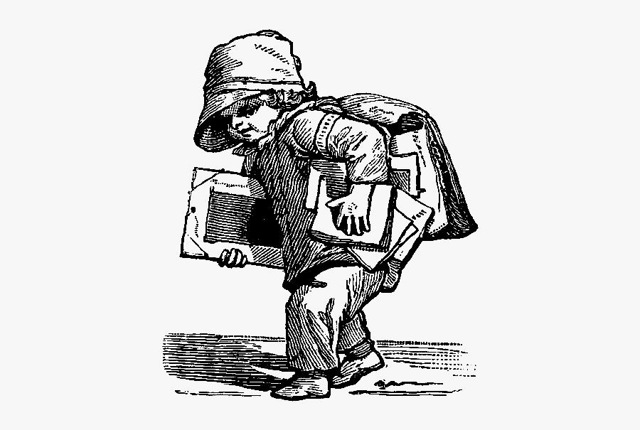 Poor Victorian Child Clipart , Free Transparent Clipart.