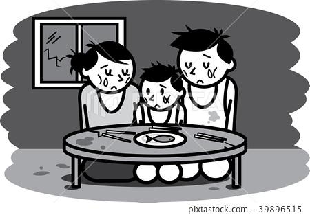 Poor family.