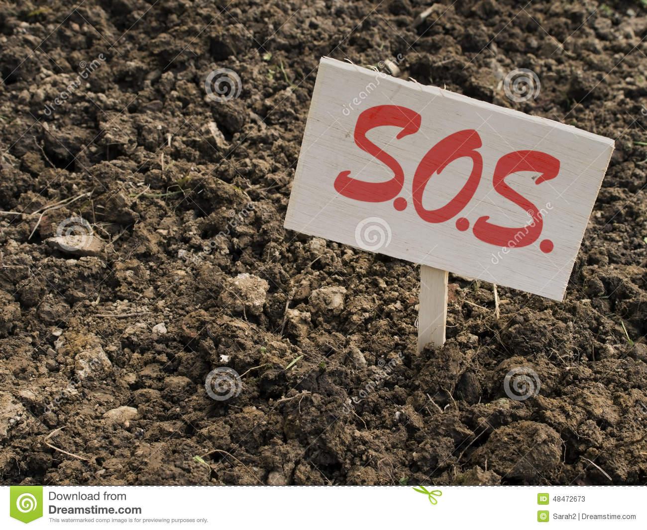 Clay Garden Soil Stock Images.