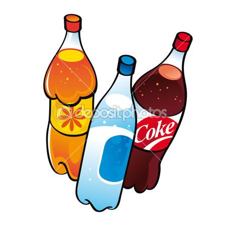 Soda Bottles Clipart.