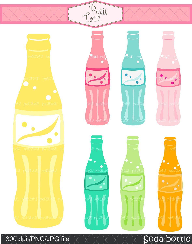 soda pop bottle clip art.