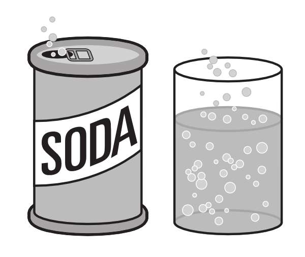Similiar Soda Clip Art Black And White Keywords.
