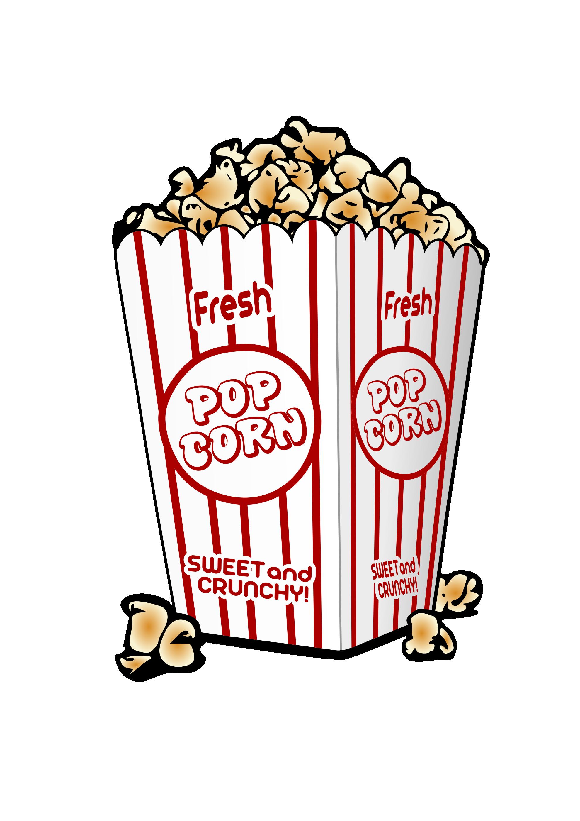 Best Popcorn Clip Art #21856.