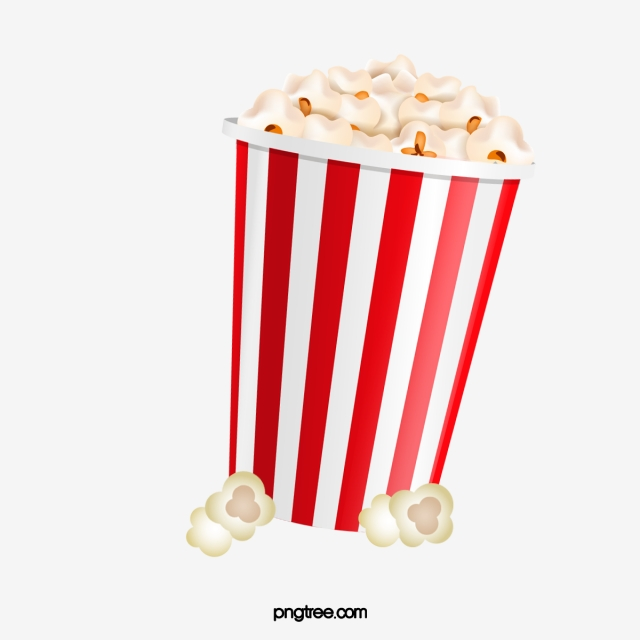 Popcorn PNG Images.
