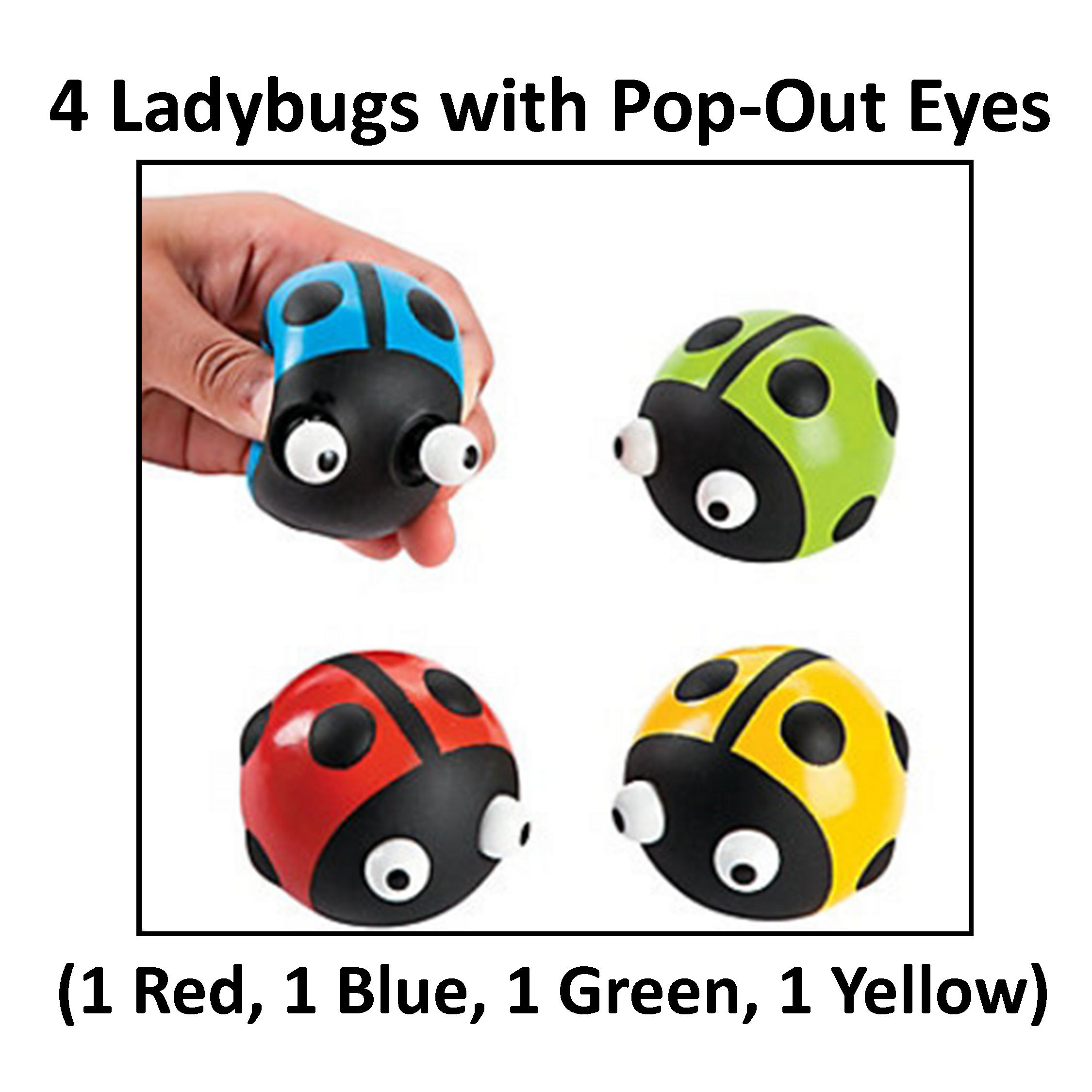 4 Ladybugs with Pop.