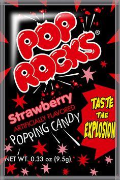 Las 26 mejores imágenes de Pop Rocks.