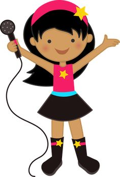Pop Star Clipart.