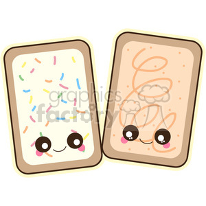 Pop Tart clipart. Royalty.