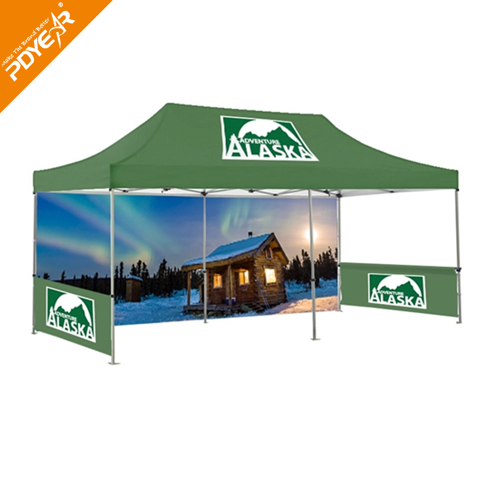 Pdyear Advertising Big Party Tent Custom Logo Canopy Tent Cheap Pop Up Tent.