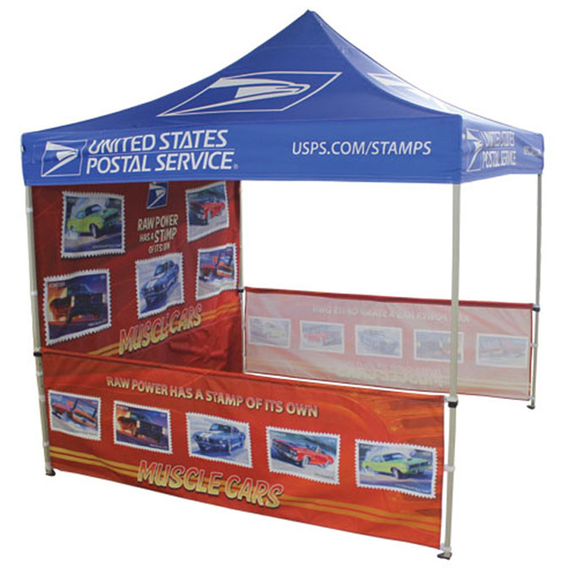 Pop Up Canopy Tent With Full Colors Printing.