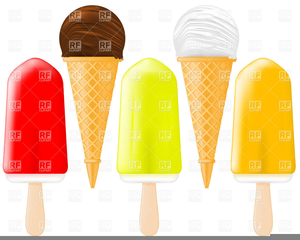 Free Popsicles Clipart.