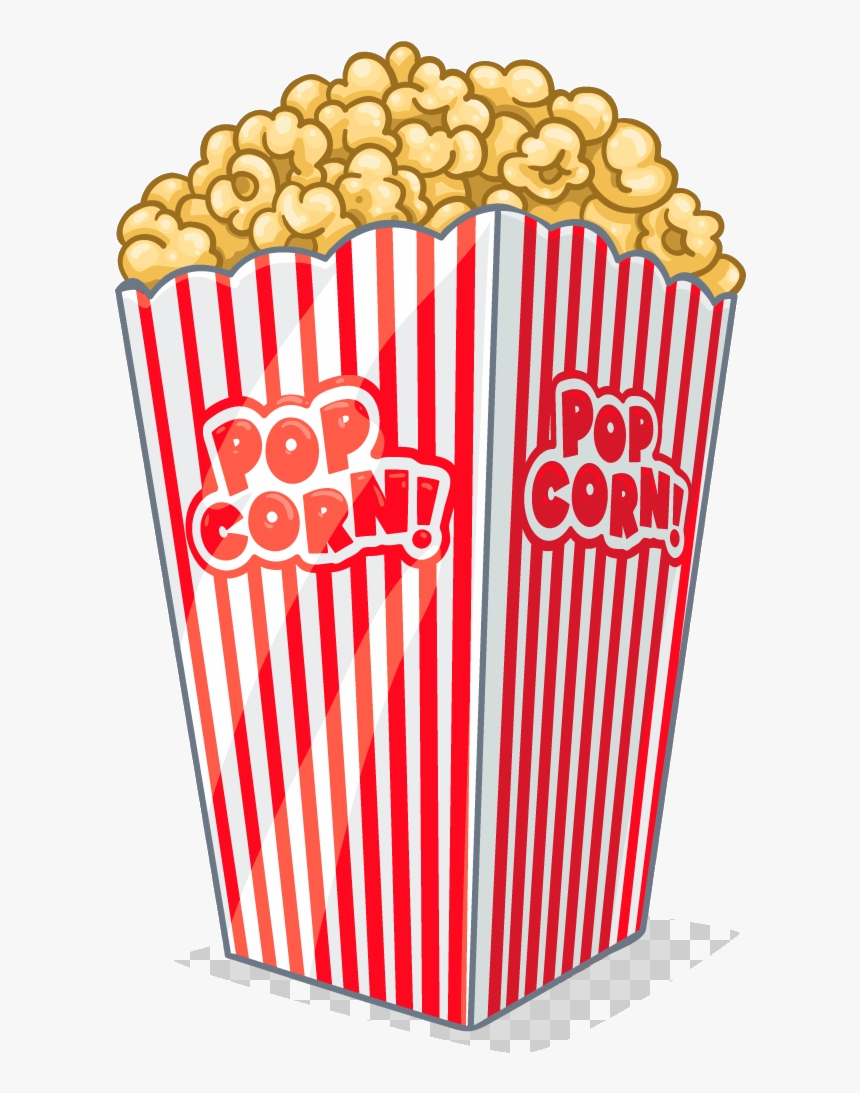 Popcorn Clipart Tv And Transparent Background Clip.