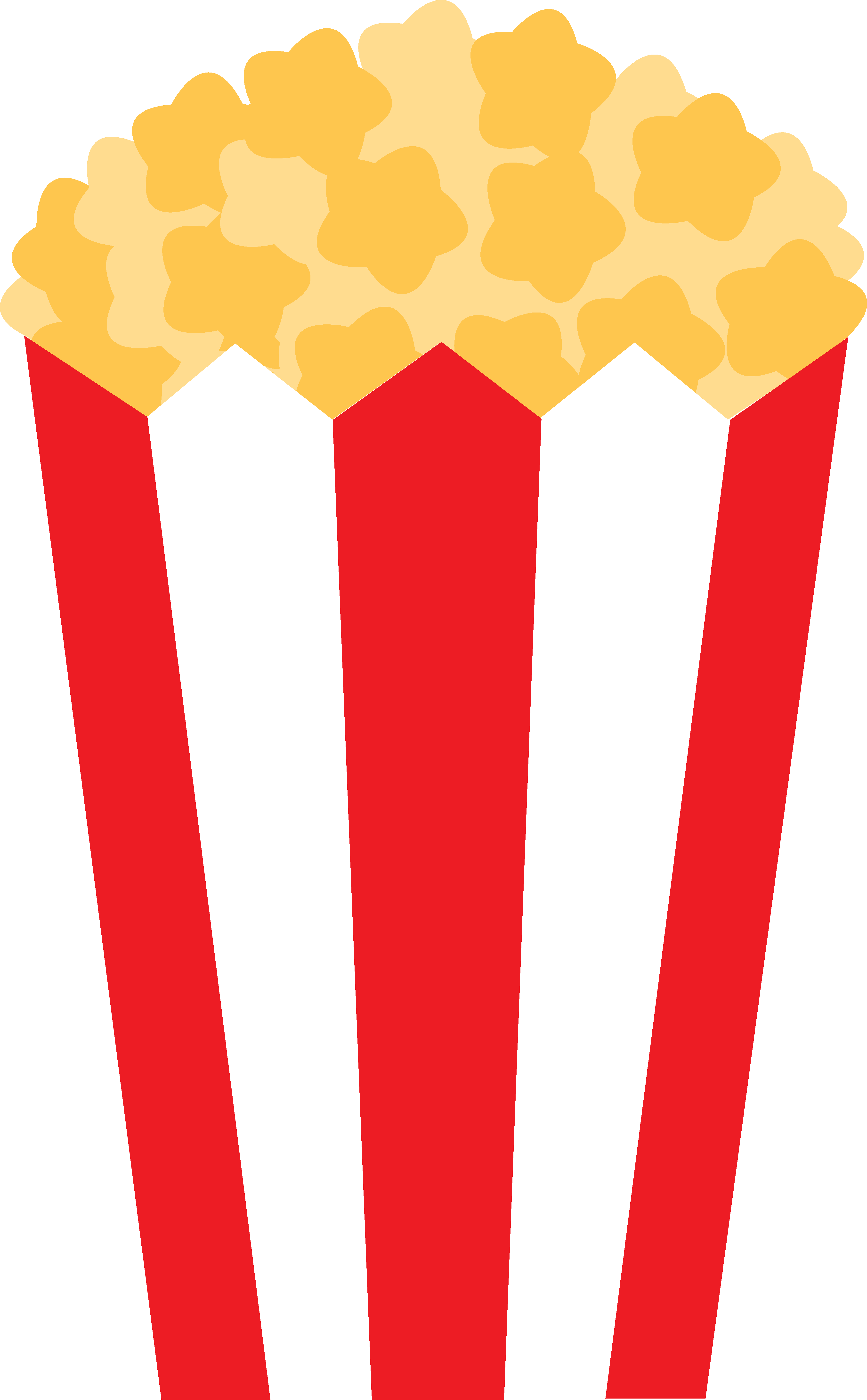 Movie Popcorn Cartoon Id Buzzerg.