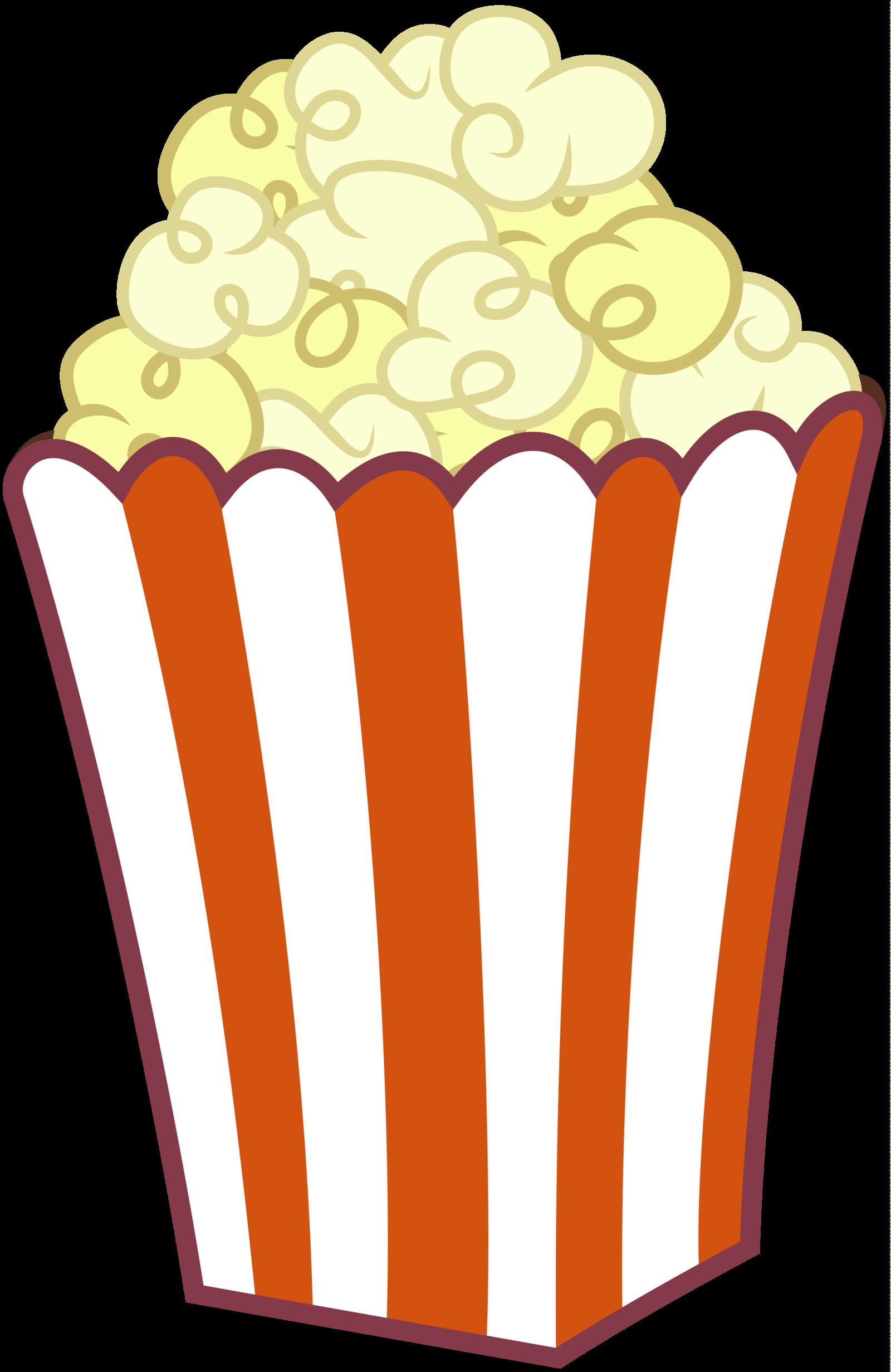 Popcorn Bag Clipart.