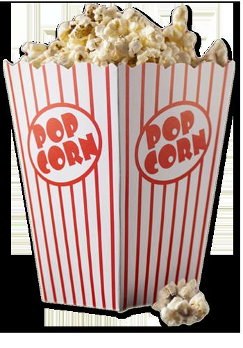 Popcorn PNG images free download.