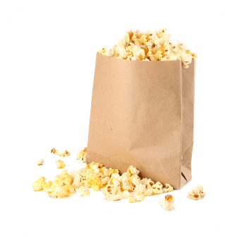 Popcorn Brown Bags No2.