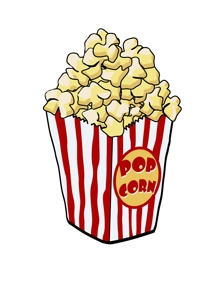 Popcorn Bag Clipart Transparent Png.