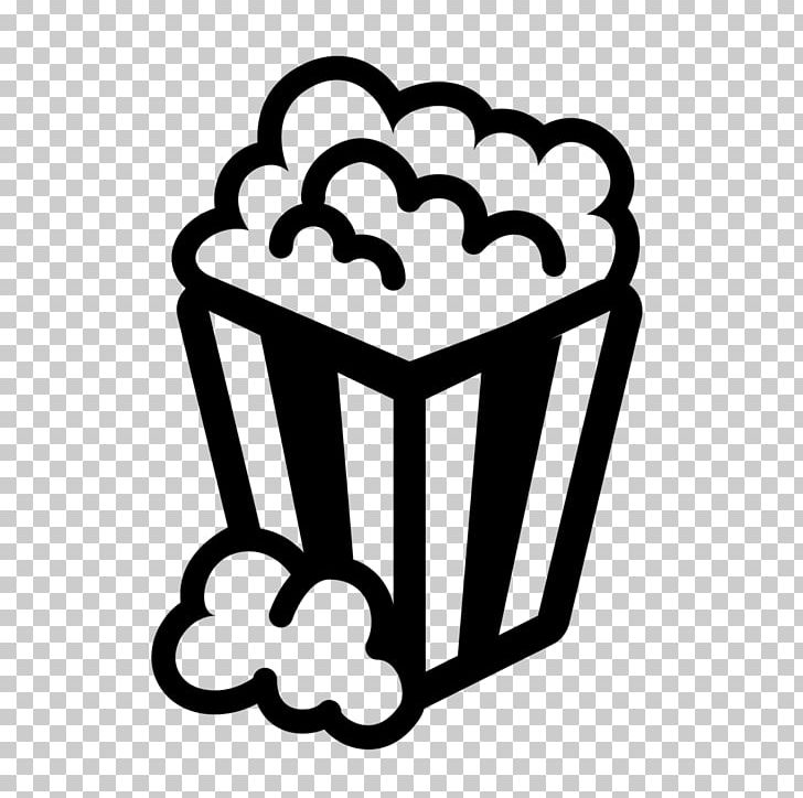 Popcorn Computer Icons Cinema Film PNG, Clipart, Black And.