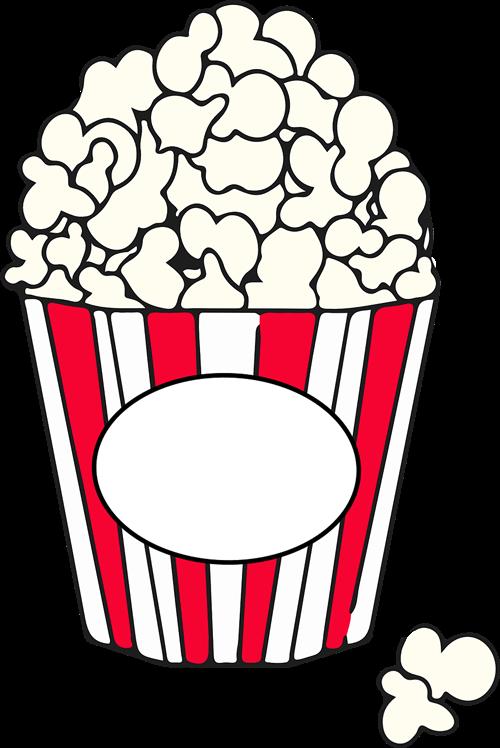Popcorn Box Clipart.