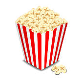 Popcorn box clipart 2 » Clipart Station.