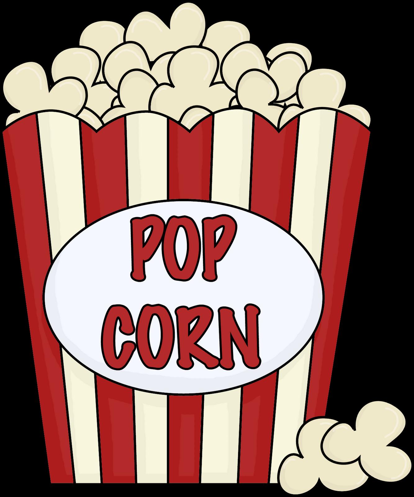 Popcorn Box Clip Art.