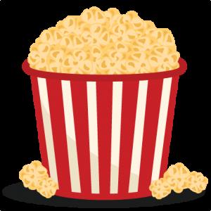 Popcorn Bucket SVG scrapbook cut file cute clipart files for.