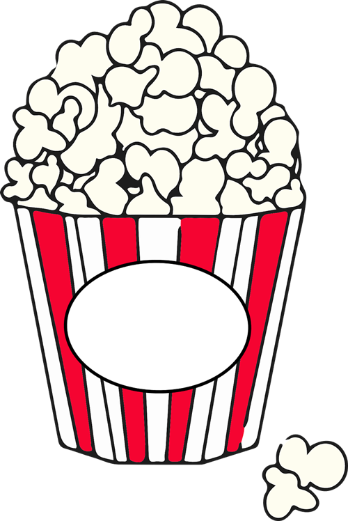 Popcorn Clipart.