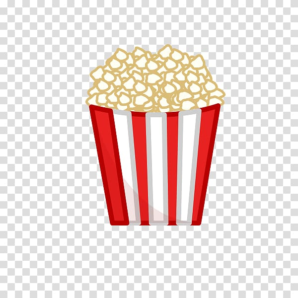 Popcorn Illustration, Popcorn transparent background PNG.