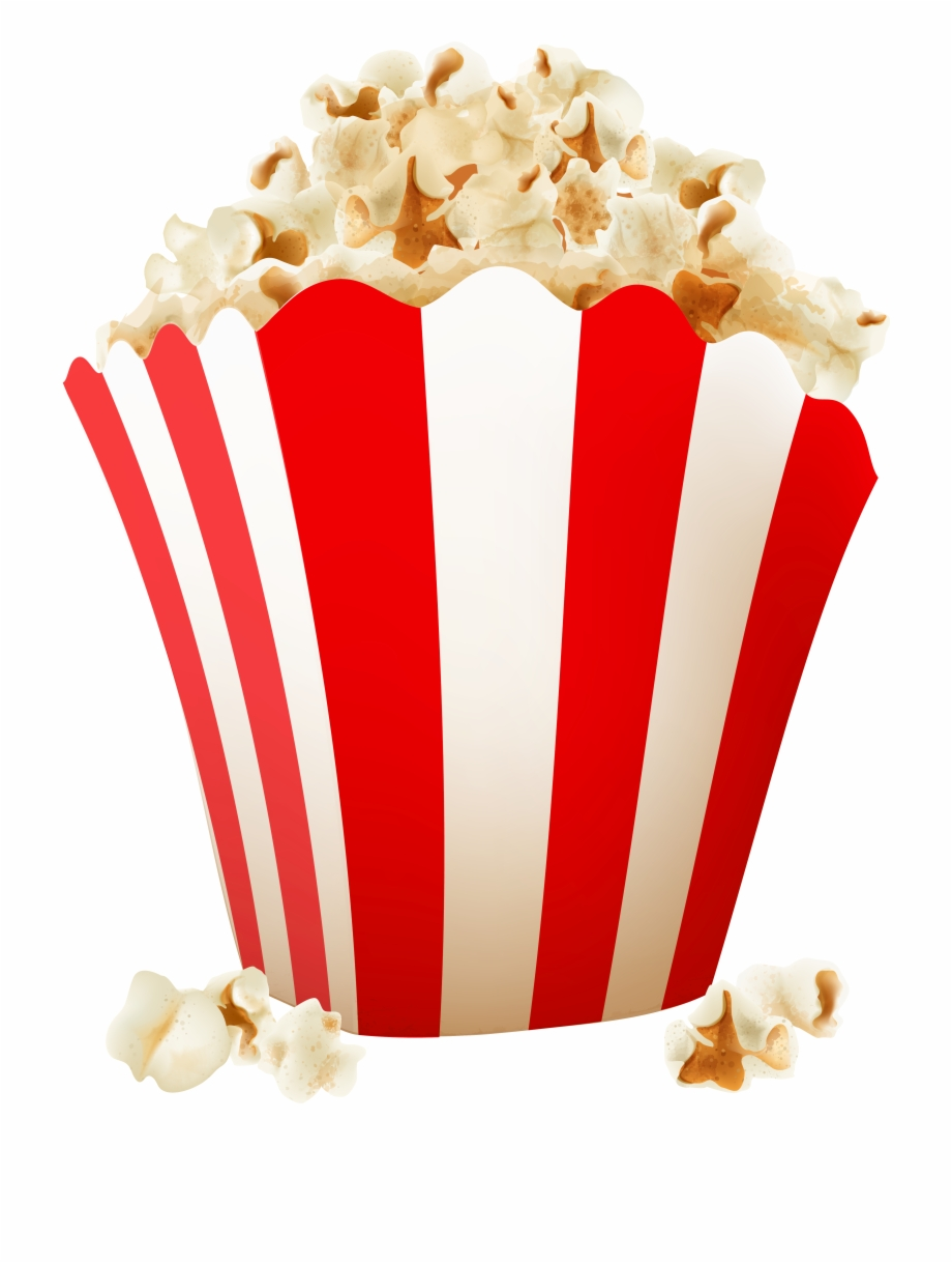 Popcorn Png Clip Art Image.