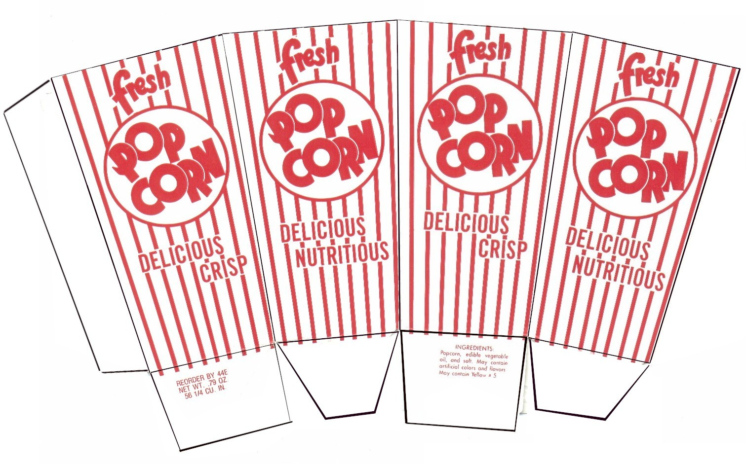Sophisticated Free Popcorn Bag Templates That Will Fit Any.