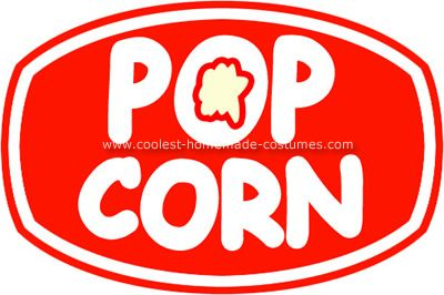 Free Printable Popcorn Labels.