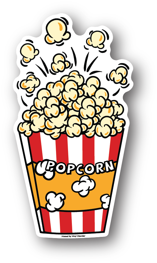 Mar Popcorn Pocket Clipart.