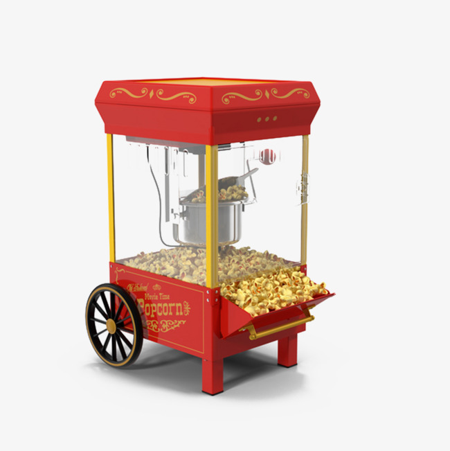 Popcorn machine clipart 9 » Clipart Station.