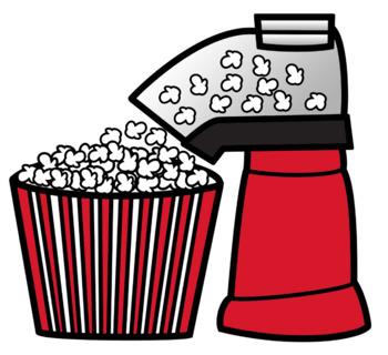 Popcorn Popper Clip Art.
