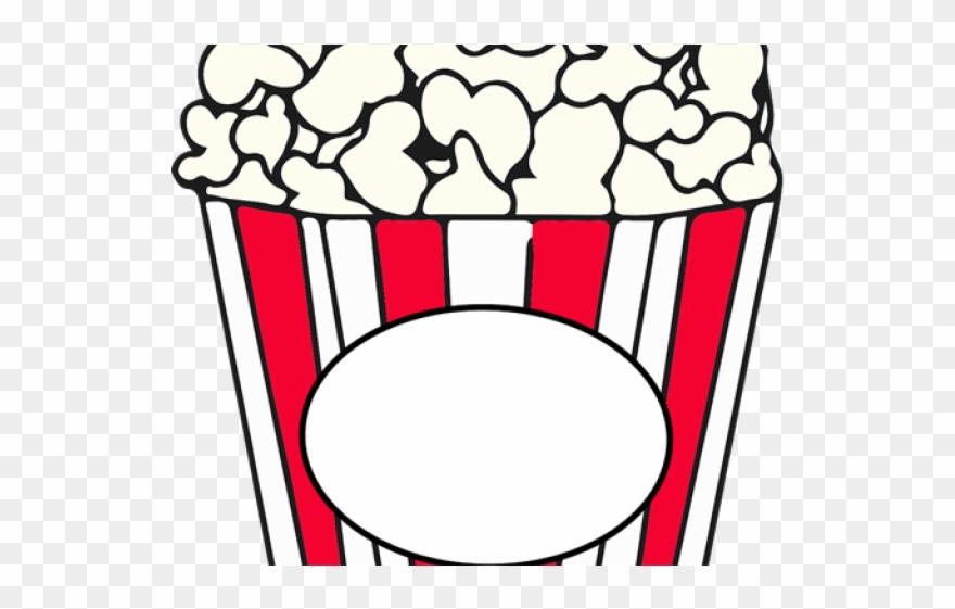 Popcorn Clipart Basket.