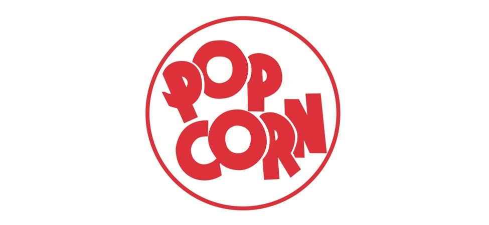 Popcorn Sign Clipart.