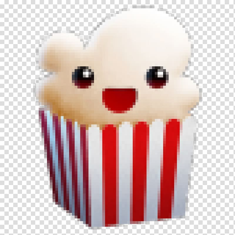 Popcorn Time Android , popcorn transparent background PNG.