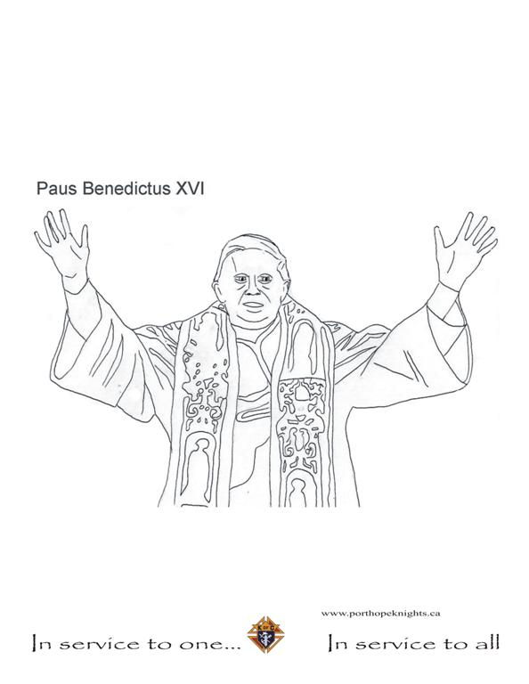 Popes Coloring Pages.