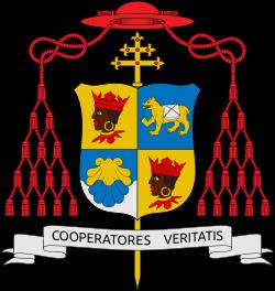 Coat of arms of Pope Benedict XVI.