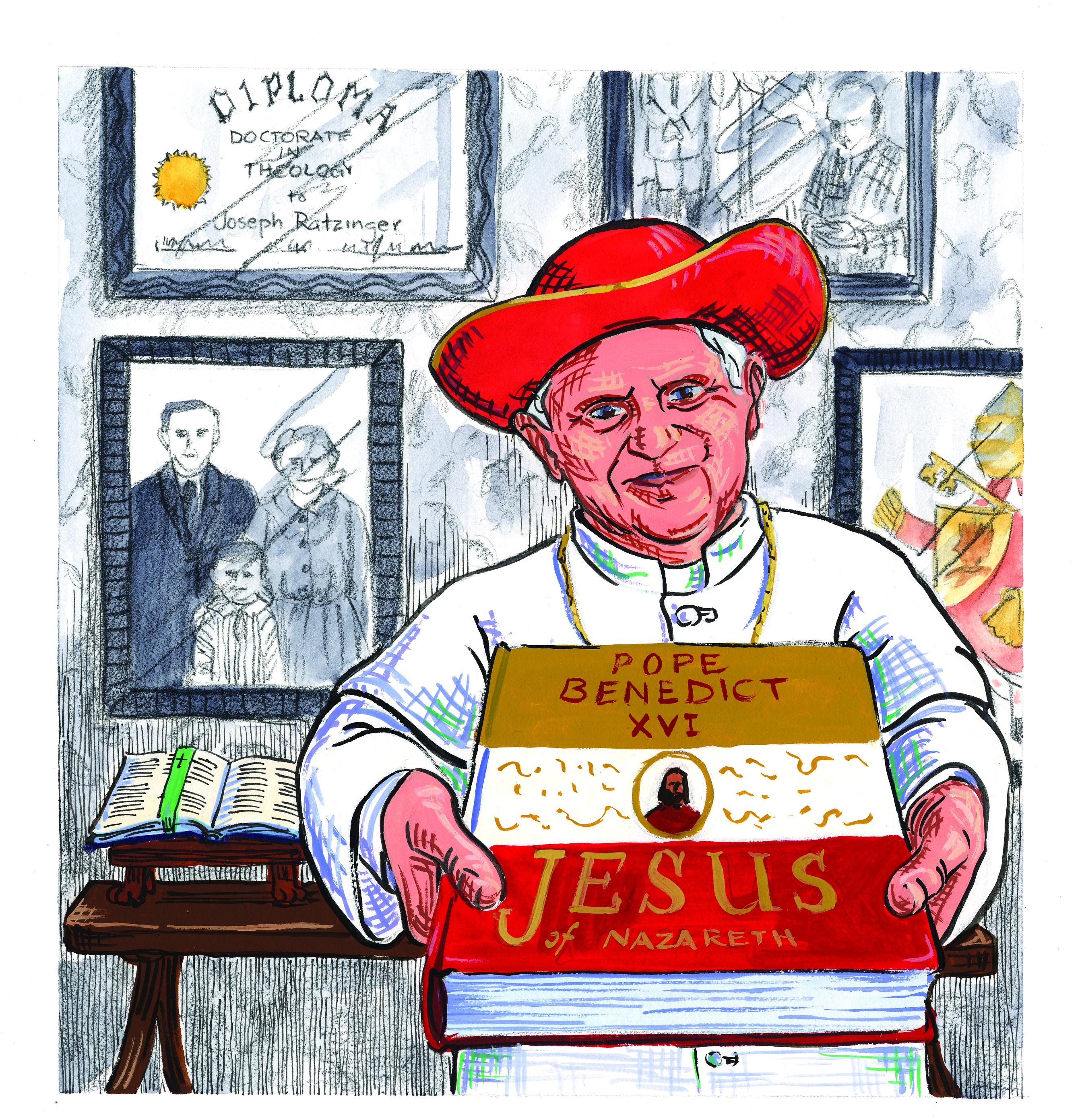 Pope Emeritus Benedict XVI.
