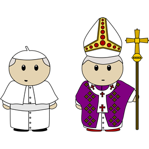 Free Clipart Of Pope Francis.