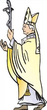 Free Pope Clipart.